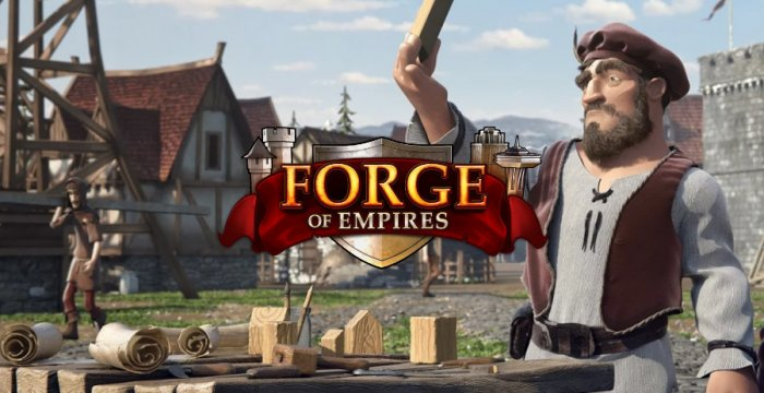 Браузерная онлайн стратегия Forge of Empires