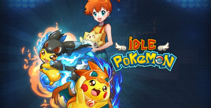 Браузерная RPG-игра Idle Pokemon